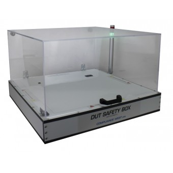 Hipot DUT Safety Box 01 with 360 deg. view Patlite