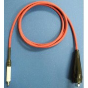 High Voltage Test Lead for MP over 7KV, Black, 4ft long