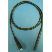 High Voltage Test Lead, 5KV, Black 4ft long