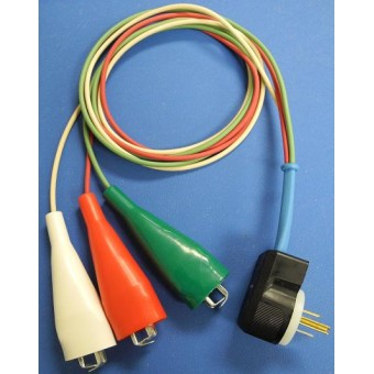 Manufactured Housing Cordset for HT(2000P/R, 2800P/R, 3000P/R) 4ft long