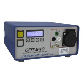 Capacitor Discharge Tester 8A, CE Approved. CBX built in for functionality test!