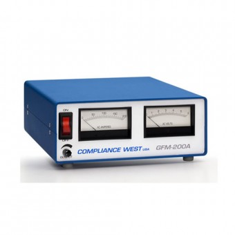 Ground Continuity Tester, 10-200A output, metered