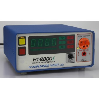 Hipot Tester, 0-2800Vdc @ 5mA and Adjustable Ground Continuity, UL Listed!
