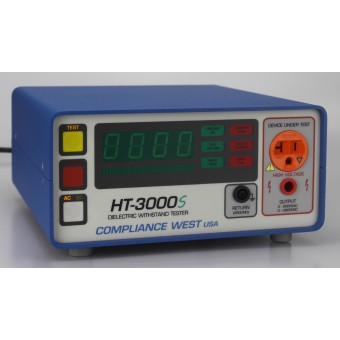 Hipot Tester, 0-2000Vac @ 20mA, 0-2800Vac @ 5mA and Adjustable Ground Continuity, UL Listed!