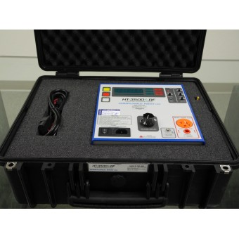 Hipot Tester, 0-2500Vac @ 20mA, 0-3500Vdc @ 5mA and Adjustable Ground Continuity, Portable and Rugged!