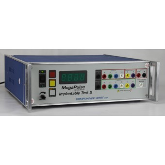 Implantable Surge Tester Truncated Exponential Mono- and Biphasic 140-270V